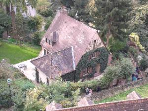 Heidelberg Hexenhaus an der Burg