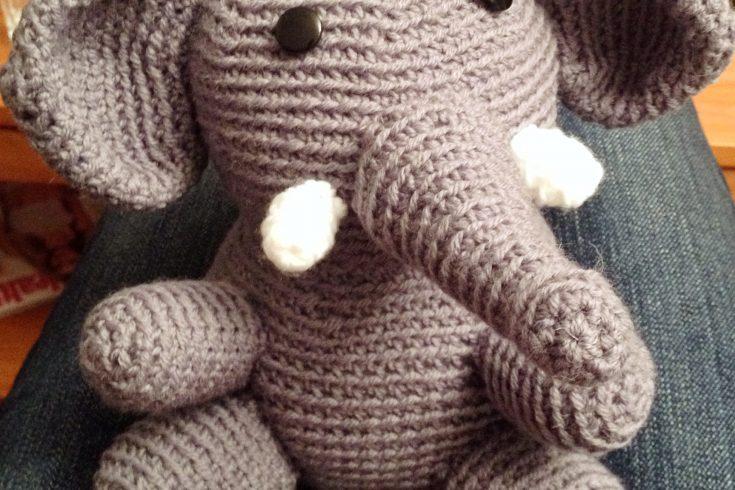 Kuschel-Elefant häkeln